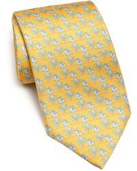 Ferragamo | Elephant Flower Monk Tie | Lyst