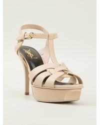 Saint Laurent Classic Tribute 75 Sandal - Lyst