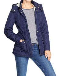 Old Navy Quilted Sherpalined Anoraks - Lyst