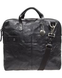 Will Leather Goods Leather Messenger Bag - Lyst