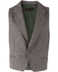 Haider Ackermann Sleeveless Jacket - Lyst