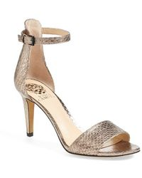 Vince Camuto 'Court' Ankle Strap Sandal - Lyst