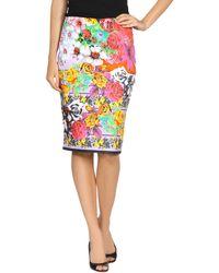Versace Knee Length Skirt - Lyst