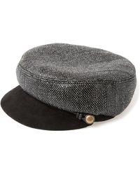 Eugenia Kim - Black Elyse Coated Wool Hat - Lyst