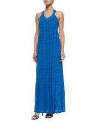 Ella Moss Tempe Sleeveless Combo-print Dress - Lyst