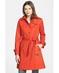Pendleton 'Pacific Crest' Single Breasted Trench Coat - Lyst