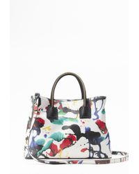 Milly Splatter Paint Tote - Lyst