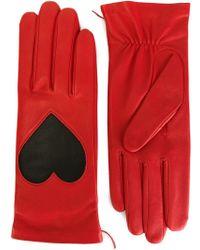 Christopher Kane | Love Heart Applique Gloves | Lyst