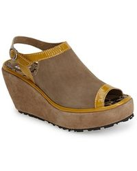 Fly London 'Pyle' Wedge Sandal - Lyst