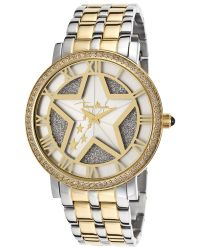 Thierry Mugler Women'S Two-Tone Steel Silver Dial - Lyst