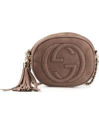 Gucci Tassel Detail Cross Body Bag - Lyst