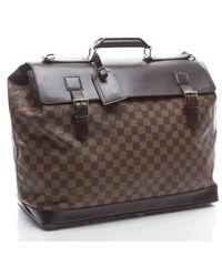 Louis Vuitton Preowned Damier Ebene West End Pm Travel Bag - Lyst