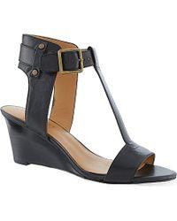 Nine West Rileigh Wedge Sandals - For Women - Lyst