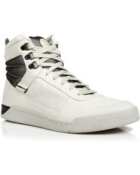 Diesel Tempus Onice High Top Sneakers - Lyst