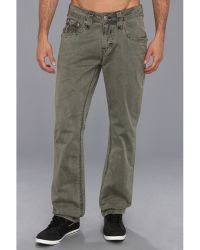 Rock Revival - Olive Twill Pant - Lyst