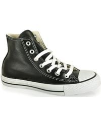 Converse Chuck Taylor - Leather High Top Sneaker - Lyst