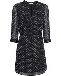 H&M Chiffon Dress - Lyst