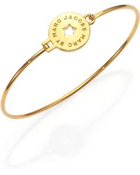 Marc By Marc Jacobs Star Coin Cuff Bracelet - Lyst