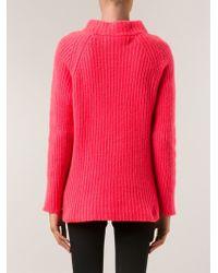 The Elder Statesman Ribbed Sweater - Lyst