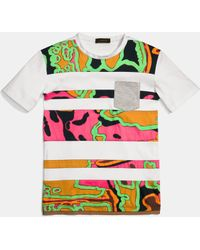 COACH | Psychedelic Swirl Tee Shirt | Lyst