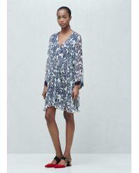 Mango | Paisley Print Dress | Lyst