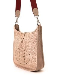 Hermès HermãˆS Two-Tone Shoulder Bag beige - Lyst