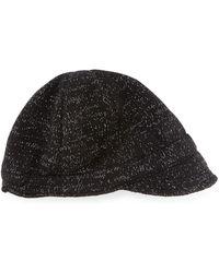 Portolano Knit Peak Hat With Visor - Lyst