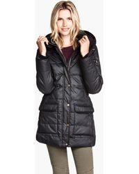 H&M Coated Jacket - Lyst