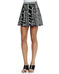 Proenza Schouler Printed Pleated Shorts - Lyst
