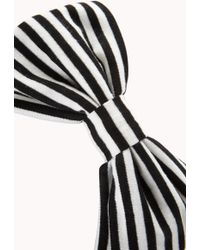 Forever 21 - Mod Striped Bow Headwrap - Lyst