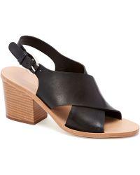 Loeffler Randall Ruby Stacked Heel Sandal - Lyst