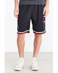 Mitchell & Ness Chicago Bulls Authentic Short - Lyst