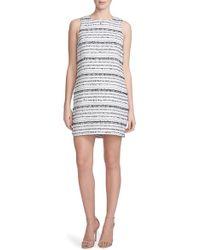 Cynthia Steffe | 'anna' Boucle Shift Dress | Lyst