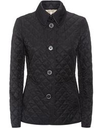 Burberry Brit - Copford Diamond Quilted Jacket - Lyst