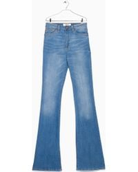 Mango Flared Flare Jeans - Lyst
