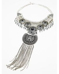 Free People Anja Statement Collar - Lyst