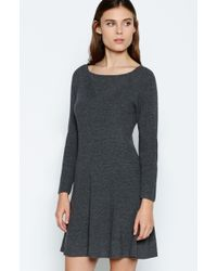 Joie Didiere Dress gray - Lyst