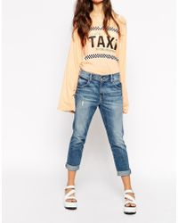 Wildfox Marissa Turn Up Jeans - Lyst