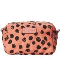 Marc By Marc Jacobs Crosby Quilt Nylon Deelite Dot Large Cosmetic - Lyst