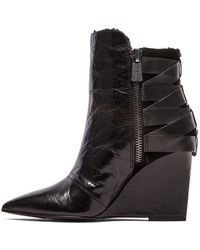 Luxury Rebel Rahda 2 Bootie with Shearling Lining - Lyst