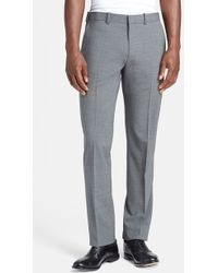 Theory 'Marlo New Tailor' Slim Fit Pants - Lyst