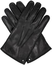 Mulberry Nappa Leather Gloves - Lyst