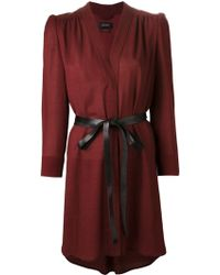 Isabel Marant Draped Dress - Lyst