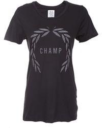 Zoe Karssen Short Sleeve Champ Loose Fit Tshirt - Lyst