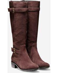 Cole Haan Putnam Waterproof Boot (40Mm) brown - Lyst
