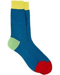Richard James | Ribbed Mid-calf Socks | Lyst