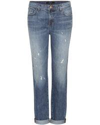 J Brand Jake Low Rise Slim Boyfriend Jeans - Lyst