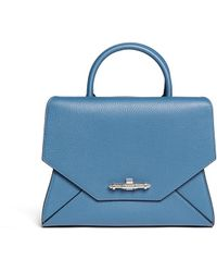 Givenchy 'Obsedia' Small Leather Flap Tote - Lyst