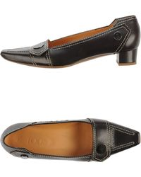 Tod's Moccasins brown - Lyst