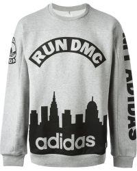 Adidas Run Dmc Sweatshirt - Lyst